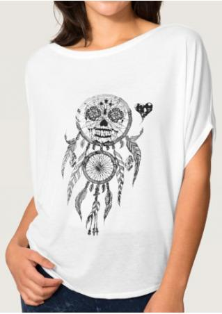 Dream Catcher Printed Casual T-Shirt
