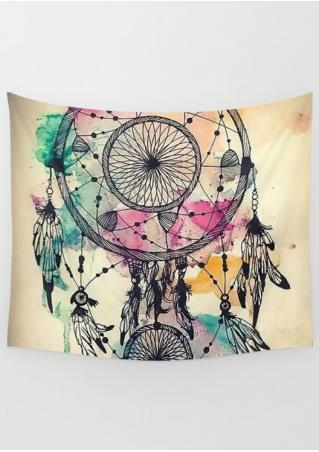 Multicolor Dream Catcher Rectangle Tapestry