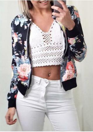 Floral Printed Jacket