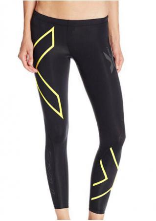 Color Block Skinny Sport Leggings
