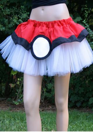 Pokemon GO Gaming Mesh Splicing Tutu Skirt Pokemon