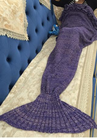 Crochet Mermaid Tail Design Blanket