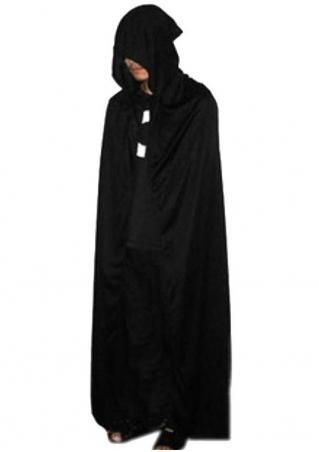Halloween Devil Costume Hooded Cape