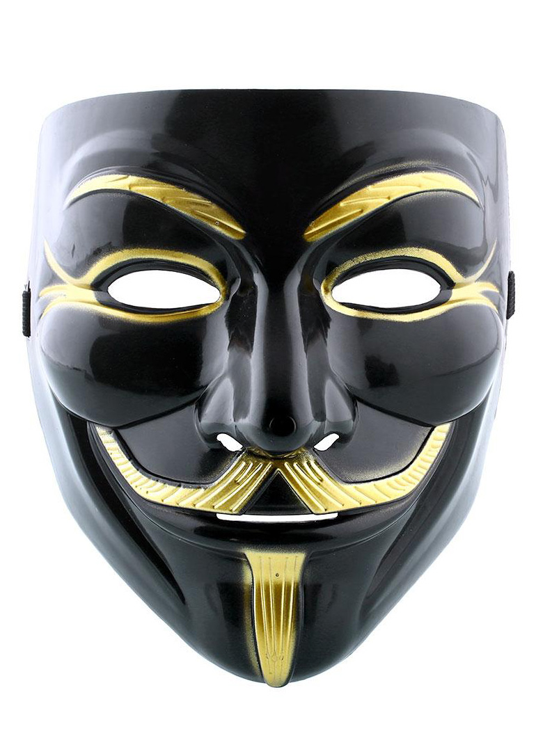 Halloween Cosplay V for Vendetta Guy Fawkes Mask