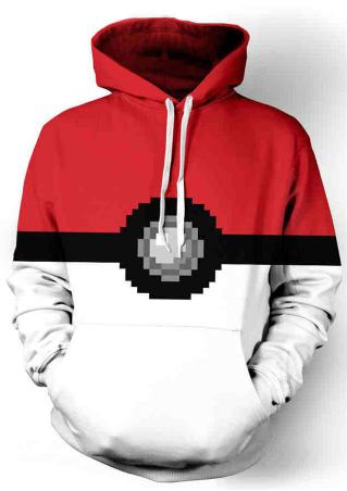 Pokemon GO Gaming Plus Size Hoodie