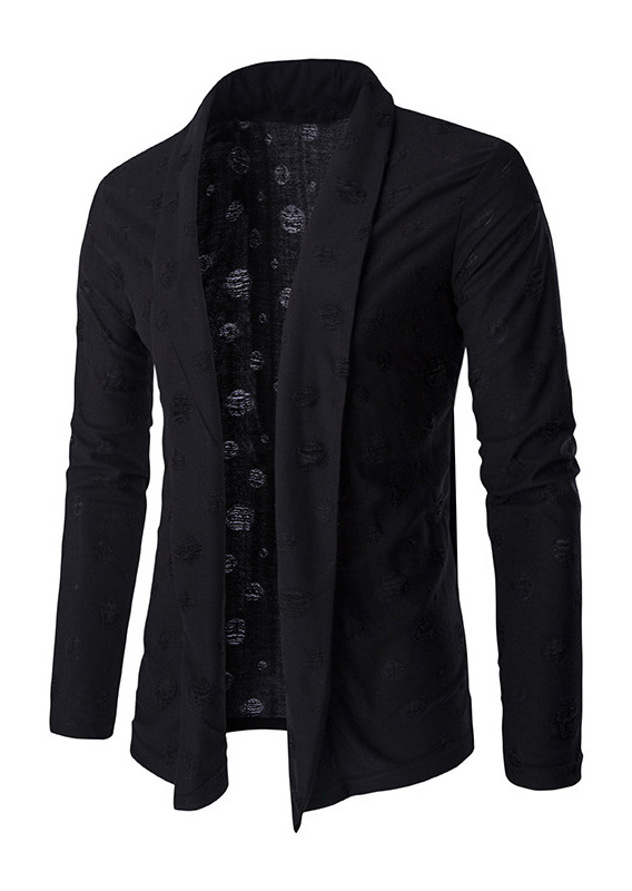 Image of Solid Long Sleeve Blazer