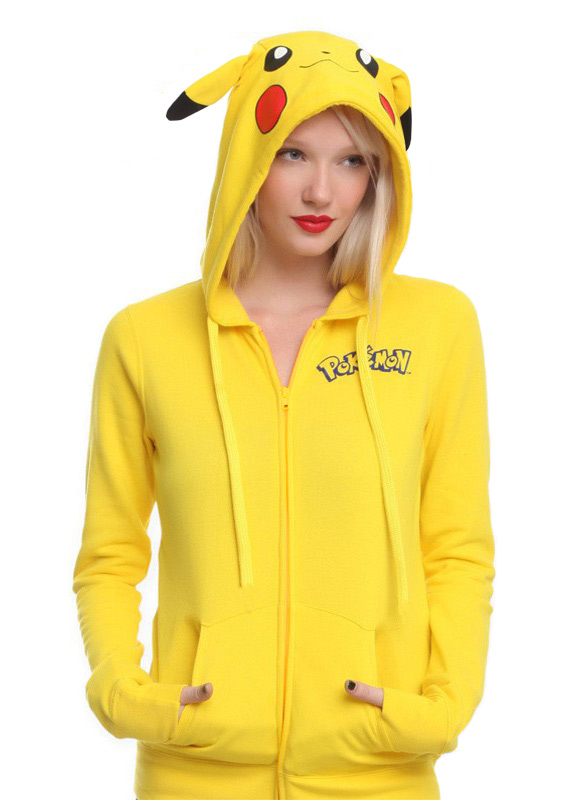 Image of Pokemon GO Gaming Design Kangaroo Pocket Hoodie