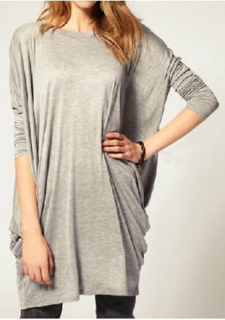 Batwing Sleeve Loose Blouse Batwing
