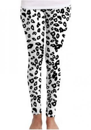 Leopard Stretchy Leggings