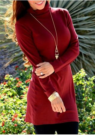 Solid Back Slit Blouse Without Necklace