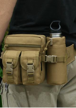 Solid Outdoor Sport Waist Bag Solid