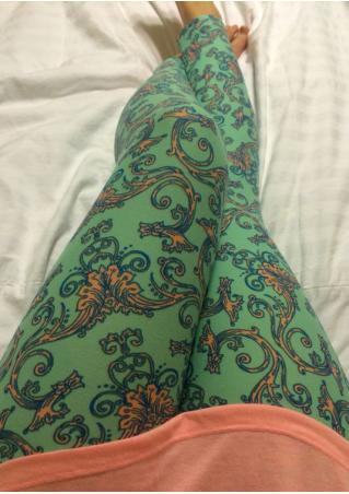 Printed Stretchy Leggings