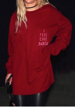 I FEEL LIKE PABLO Long Sleeve Blouse