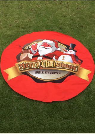 Christmas Santa Claus Picnic Blanket