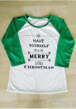 HAVE YOURSELF A MERRY LITTLE CHRISTMAS Baseball T-Shirt