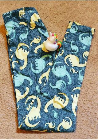 Dinosaur Printed Leggings Dinosaur