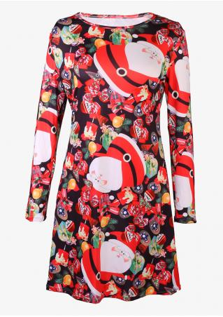 Santa Claus & Christmas Gift Dress