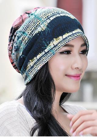 Multicolor Casual Hat