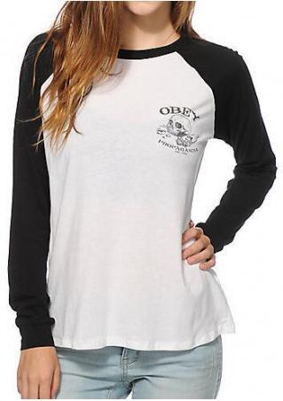 Obey Propaganda Baseball T-Shirt