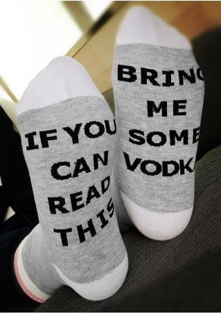 Bring Me Some Vodka Socks Bring