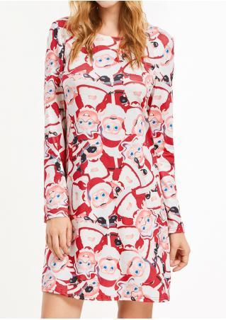 Christmas Santa Claus  Dress