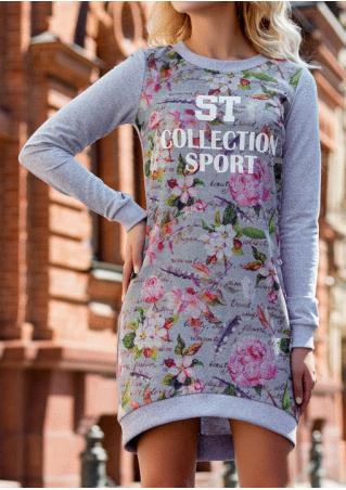 St Collection Sport Floral Mini Dress