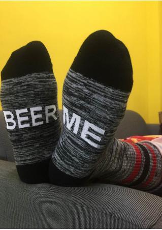 Beer Me Warm Socks Beer