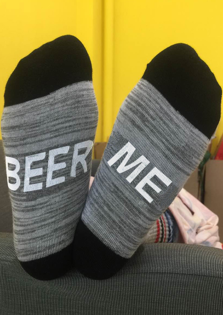 Image of Beer Me Warm Socks