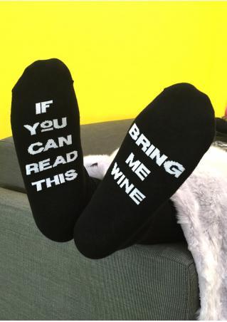 Bring Me Wine Warm Socks Bring