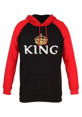 King Crown Long Sleeve Hoodie