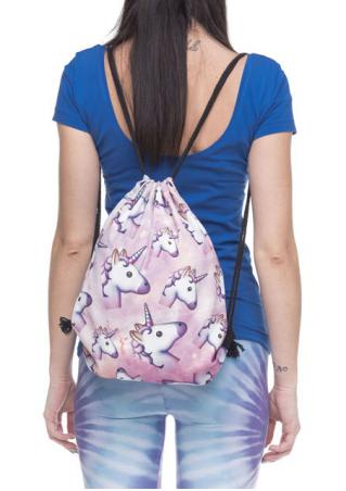 Unicorn Drawstring Backpack Unicorn