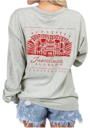 Alabama Stadium Pocket Sweatshirt Alabama