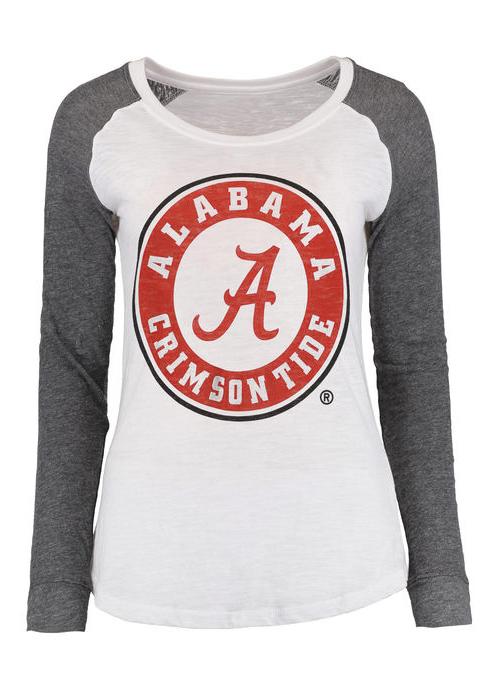Image of A Alabama Crimson Tide Elbow Patch T-Shirt