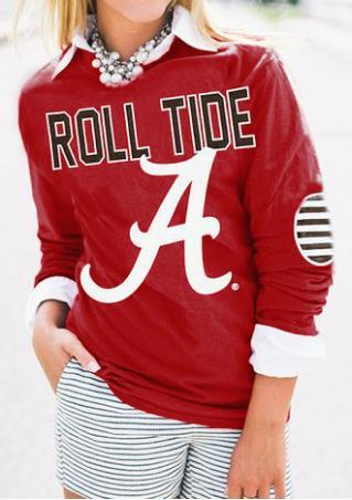 Roll Tide Casual Sweatshirt