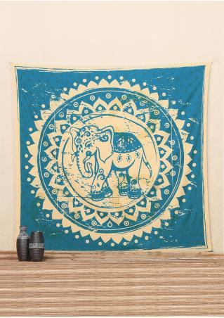 Elephant Rectangle Tapestry