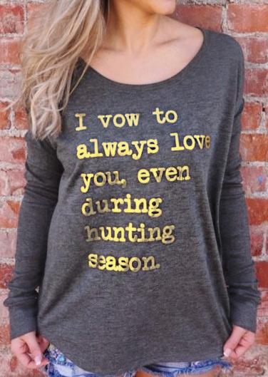 Tricou de damă, casual, cu mâneci lungi și imprimeu grafic