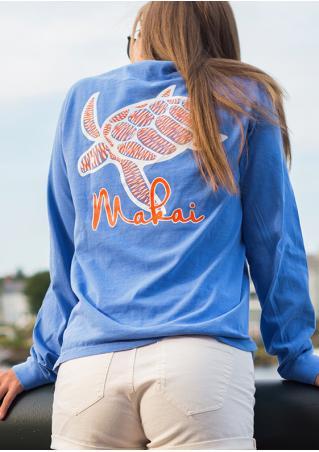 Sea Turtle Makai Pocket T-Shirt