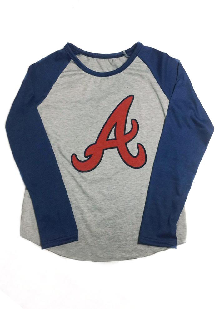 Tricou de damă, casual, slim fit, din poliester, cu imprimeu și mâneci lungi