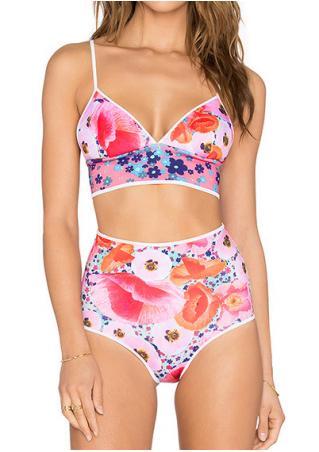 Floral Sexy Bikini Set Floral