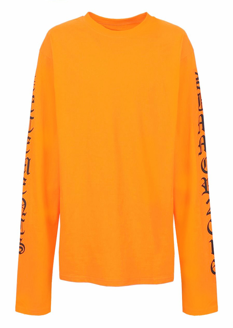 Image of 2016 Letter Long Sleeve Sweatshirt