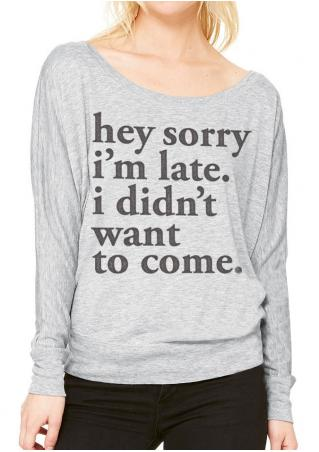 I Didn't Want to Come T-Shirt