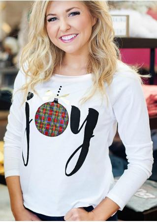 Joy Printed Ball T-Shirt