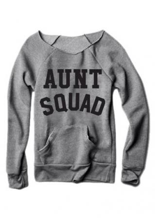 Aunt Squad Pocket Sweatshirt
