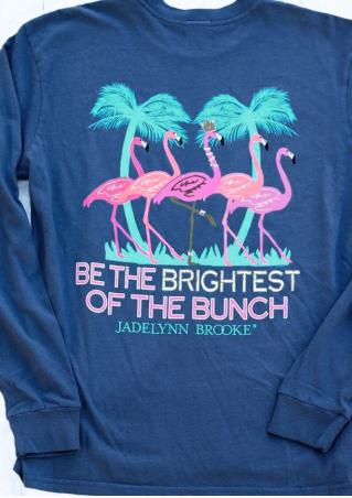 Be the Brightest of the Bunch Flamingo Sweatshirt
