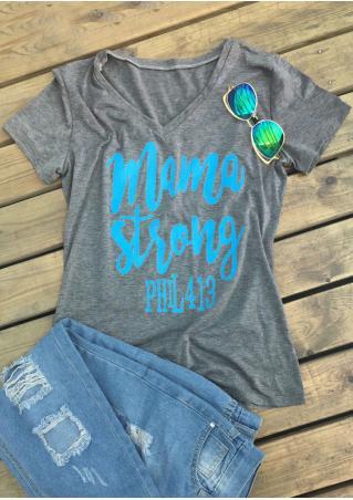 Mama Strong T-Shirt