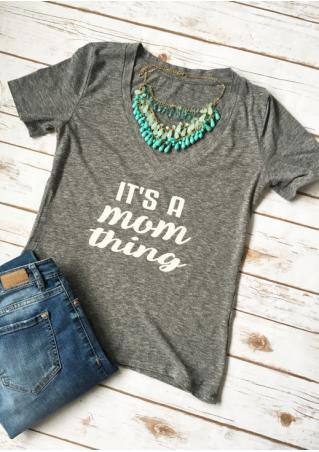 It's a Mom Thing T-Shirt without Necklace