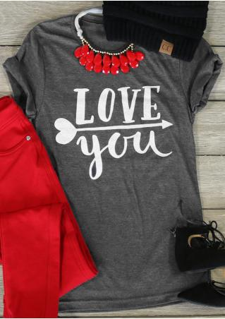Love You & Valentine's Day T-Shirt