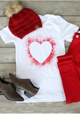 Heart Casual T-Shirt