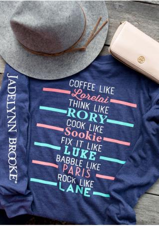 Coffee Like Jadelynn Brooke T-Shirt