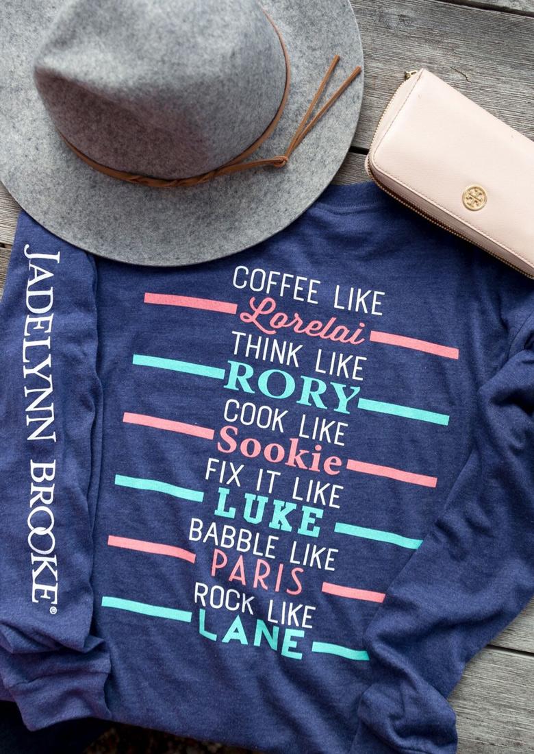 Tricou de damă, fashion, din poliester, cu mâneci lungi și imprimeu